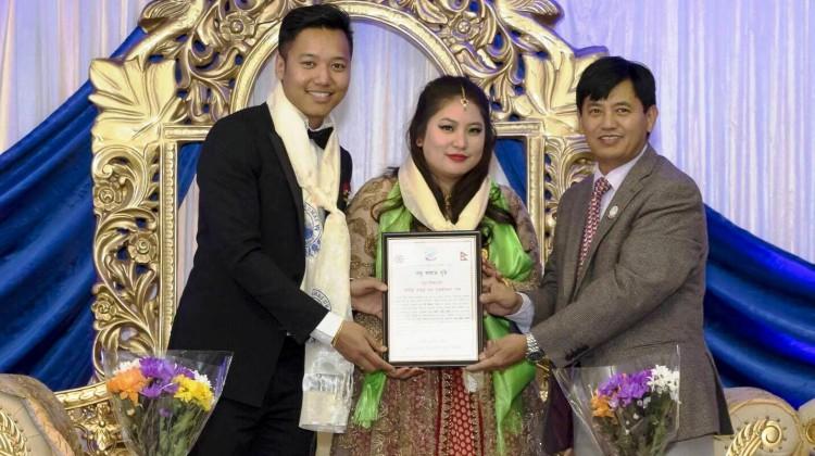 Son of Tanka ram Gurung