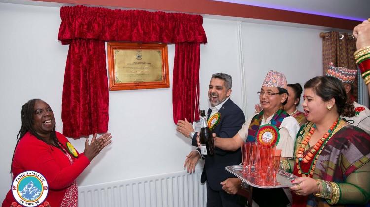 Tsuk comunity hall opening ceremony 1