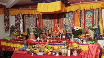 Buddha jayanti puja celebration