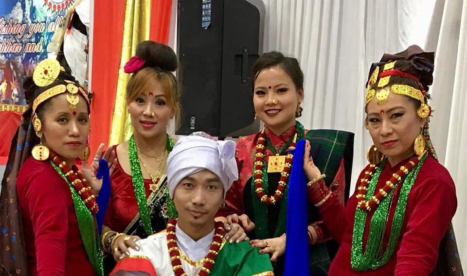 TSUK's cultural dance group 2